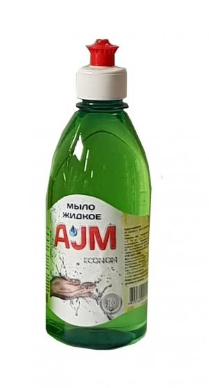 Мыло жидкое «АJМ» ECONOM, 500 мл с пуш-пулом