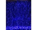 """Гирлянда """"Светодиодный Дождь"""" 2х3м, постоянное свечение, синий"""