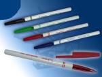 Ручка шариковая MERIDIANT черная BL-2019bk корпус белый