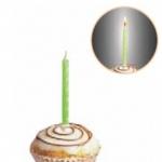 Свеча  флюоресцентная 6см (10шт)