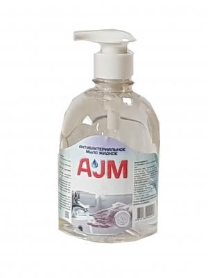Антибактериальное жидкое мыло «АJМ», 500 мл с дозатором