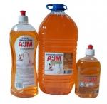 """Средство для мытья посуды АJМ """"с глицерином, 500 мл, 1л, 5л"""