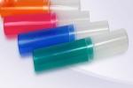 Пенал- тубус h=20 см, d=4 см, пластиковый, ассорти 4 цвета