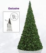 Большие уличные елки Exclusive