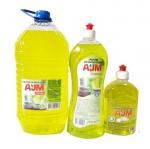 Средство для мытья посуды «АJМ» ECONOM, 500мл, 1л, 5л
