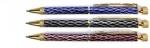 Ручка металлическая BL-900 пов. мех. цвет синий, золотой клип и наконечник