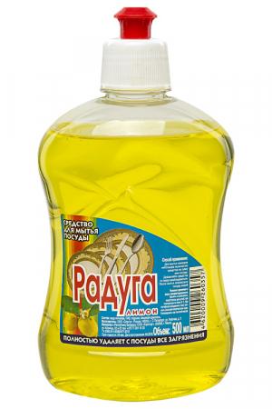 Средство для мытья посуды «Радуга», Лимон, 500мл