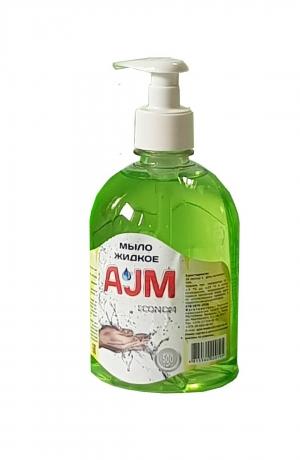 Мыло жидкое «АJМ» ECONOM, 500 мл с дозатором