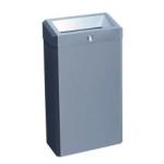 """Корзина для мусора с конусным отверстием 27л металл """"MERIDA STELLA"""" (матовая) Арт. KSM101"""