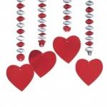 Сердце 80см (4шт)