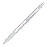Ручка металлическая серебристый корпус