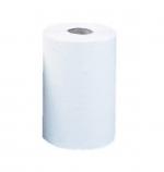 Бумажные полотенца в рулонах белые 120м