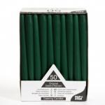 Свеча зеленая 25см (50шт)