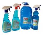 Средство для мытья стекол «АJМ» GLASS, 500мл, 750 мл, 1л, 5 л