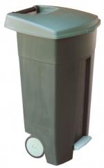 Бак для мусора на колесах 110л Арт. B52B