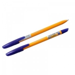 Ручка шариковая Linc Corona Plus синяя, корпус оранжевый