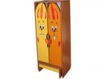 Комплект мебели для гардероба ДГСК-01-Зай двухместный