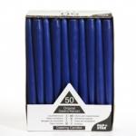 Свеча синяя 25см (50шт)