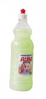 Крем-мыло «АJМ», 1 л с пуш-пулом